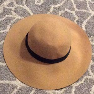 Suede Tan LOFT floppy hat